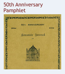 50th Anniversary Pamphlet