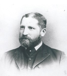 David Cohen in the 1880s: young, fresh-faced, and founding synagogues. Photo courtesy of the Andron family.
