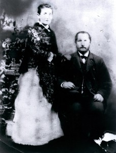 Minna and David Cohen in the 1880s. Courtesy of the Andron family.