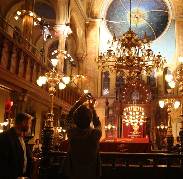 after Hours at the Museum at Eldridge Street -