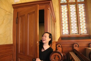 Museum at Eldridge Street intern Sarah Hong