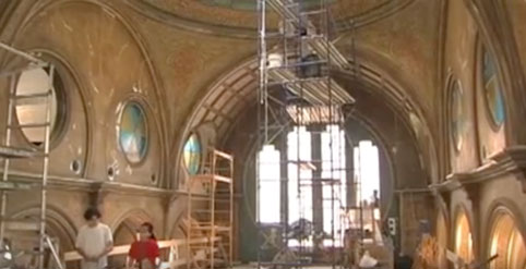 Watch our video on the restoration of the Eldridge Street Synagogue. Courtesy of Museum at Eldridge Street.