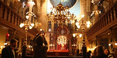 Museum at Eldridge Street / Eldridge Street Synagogue. Photo from Twilight Tour / After Hours Tour.