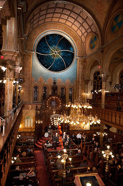 Celebrate at the Museum at Eldridge Street / Eldridge Street Synagogue. Space Rental NYC.