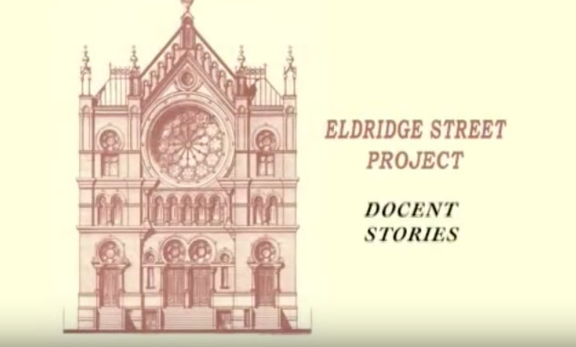 Docent Stories. Volunteer at the Museum at Eldridge Street.