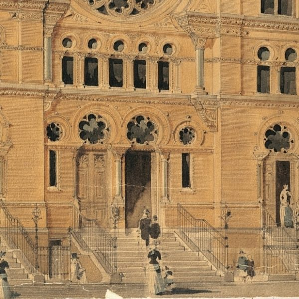 The First Rosh Hashanah at the Eldridge Street Synagogue