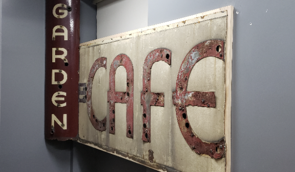 Exhuming the Signage of the Long Lost 'Garden Cafeteria' on East Broadway