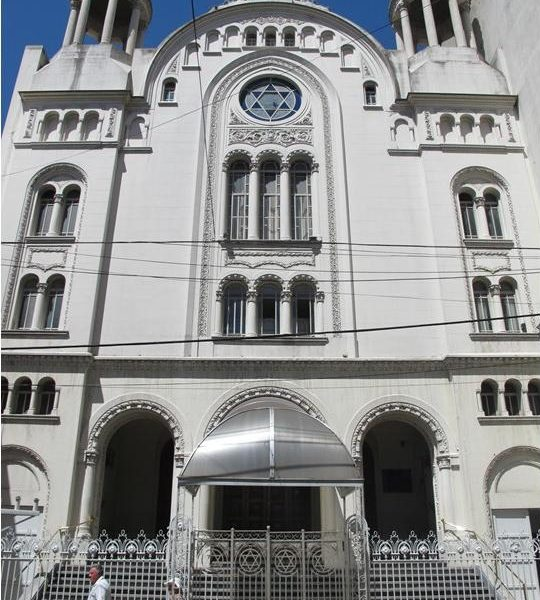 Sister Shuls:  Gran Templo Paso in Buenos Aires